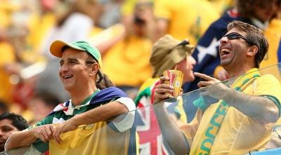 אוהדי נבחרת אוסטרליה (GettyImages)