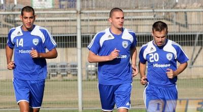 בן סהר באימון הנבחרת הצעירה. כבש שער ניצחון דרמטי בבולגריה (שי לוי)