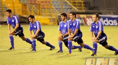 שחקני הנבחרת הצעירה מתכוננים למונטנגרו (יניב גונן)