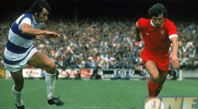 קווין קיגן ב-1975. תור הזהב של ליברפול (GettyImages)