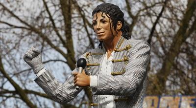 פסל של מייקל ג´קסון (GettyImages)