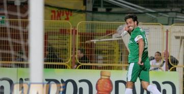 צפו: מכבי חיפה במקום השלישי עם 1:4 באשדוד
