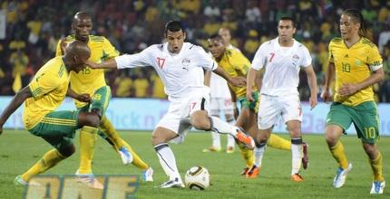 המפגש הקודם בין מצרים לדרום אפריקה (GettyImages)