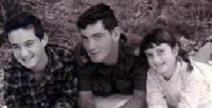 יאיר ופנחס מרנין עם אחותם, ענת. מקימי טבעון