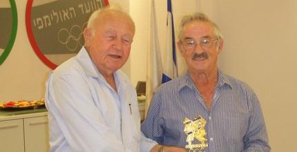 אפק וצבי ורשביאק (באדיבות הוועד האולימפי בישראל)