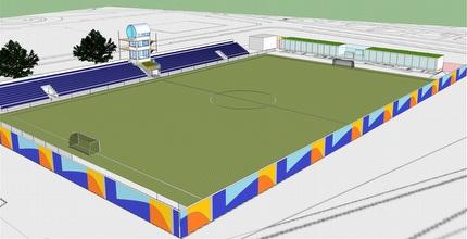 האצטדיון החדש שייבנה ביבנה