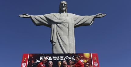 גביע העולם על פסגת הר קורקובדו (רויטרס)