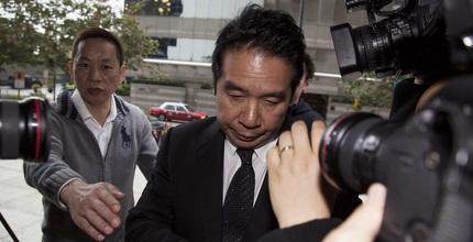 קארסון יאנג  בכניסה לבית המשפט (רויטרס)