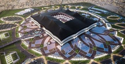 הדמיה של אצטדיון בקטאר ל-2022 (רויטרס)