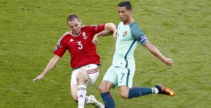 רונאלדו מול הונגריה. למי מותר להקרין? (רויטרס)