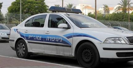 ניידת משטרה הוזמנה לאימון המסכם של עכו