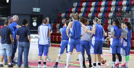 נבחרת ישראל נשים באימון המסכם (איציק בלניצקי)