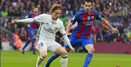 לוקה מודריץ' מול סרחיו בוסקטס (La Liga)