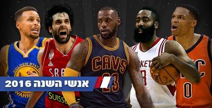 המועמדים בקטגוריית כדורסלן השנה