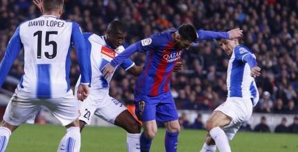 מסי בין שחקני אספניול (La Liga)