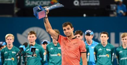 גרגור דימיטרוב זוכה בטורניר בריסביין (רויטרס)
