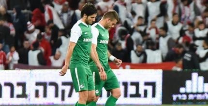 שחקני מכבי חיפה מאוכזבים (נעם מורנו)