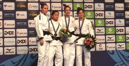 נבחרת הג'ודו זכתה בשתי מדליות ארד בגרמניה