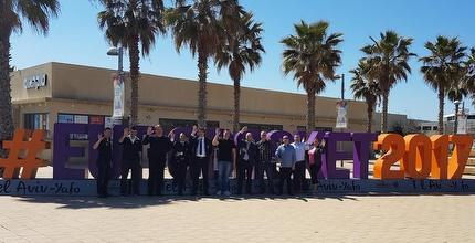 ביקור הנציגים בנמל תל אביב