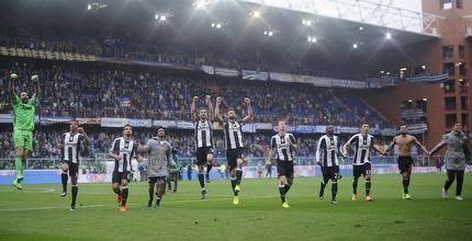 0:1 ליובנטוס על סמפדוריה, נאפולי ורומא ניצחו