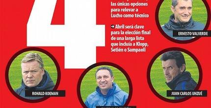 נחשפו המועמדים הסופיים לאימון ברצלונה