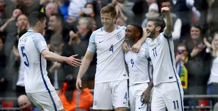 0:2 לאנגליה על ליטא, 1:4 לגרמניה באזרבייג'אן