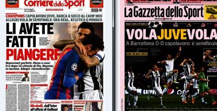 שערי העיתונים באיטליה