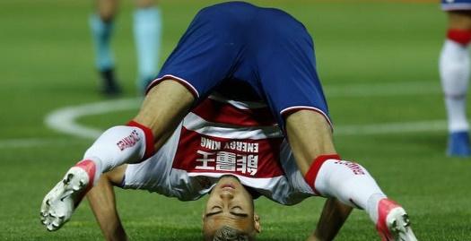 אנדראס פריירה מתגלגל (La Liga)