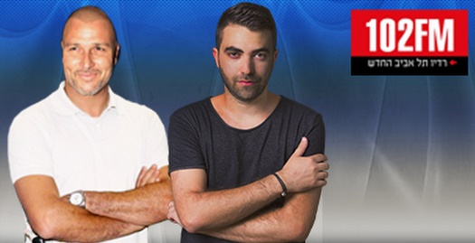 דולב נישליס ואיציק זוהר ב-102FM (מערכת ONE)