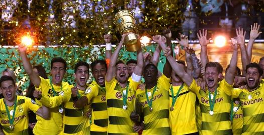 דורטמונד זכתה בגביע רביעי עם 1:2 על פרנקפורט