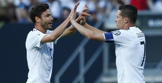 גרמניה הביסה 0:7 את סן מרינו, שלושער לווגנר