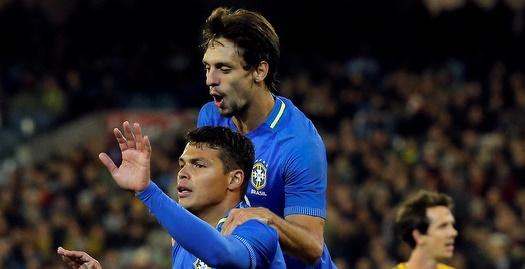 ברזיל כבשה אחרי 12 שניות ב-0:4 על אוסטרליה