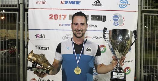 אמיר יגן: השחקן המצטיין של הטורניר (איציק בלניצקי)