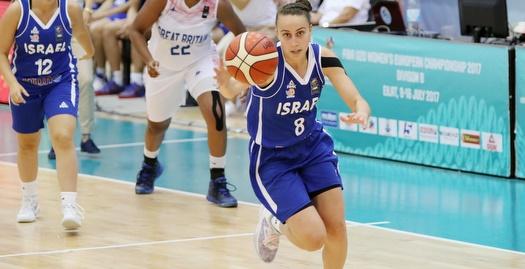 ירדן דנן חודרת לסל (FIBA)