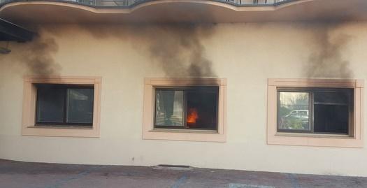 שריפה במלון של הנוער של הפועל חיפה בסרביה