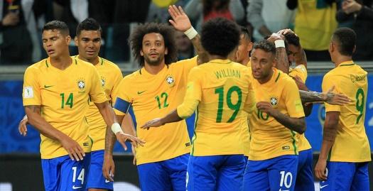ברזיל חוגגת נגד אקוודור