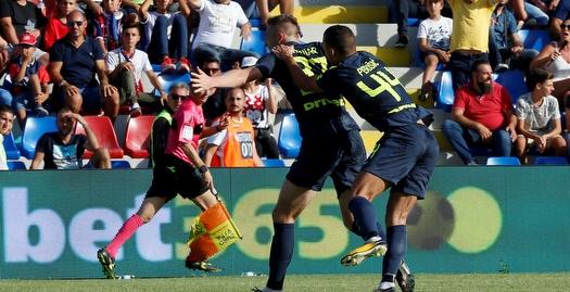 0:2 לאינטר על קרוטונה, רומא עם 0:3 על ורונה