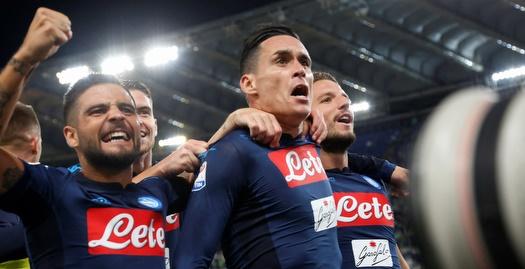 1:4 ענק לנאפולי על לאציו, ניצחון גם ליובה