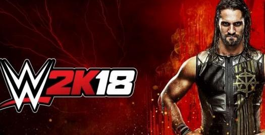 עטיפת משחק ה-WWE 2K18 (מערכת ONE)