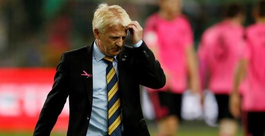 לקח אחריות: סטראכן עזב את נבחרת סקוטלנד