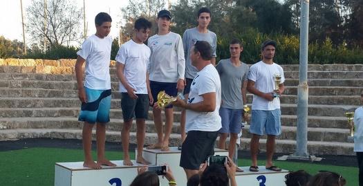אביב רוזן ותומר הנדל זכו באליפות ישראל