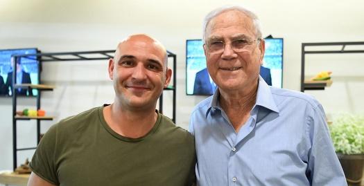יעקב שחר ומו אלאך (האתר הרשמי של מכבי חיפה)