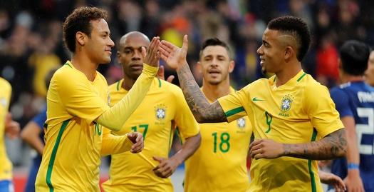 בקצב הסמבה: ברזיל חגגה עם 1:3 משכנע על יפן