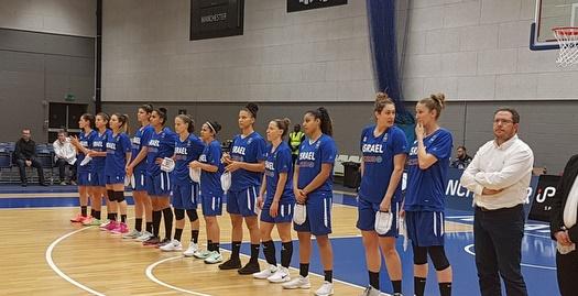 נבחרת הנשים (צילום: דוברות איגוד הכדורסל)