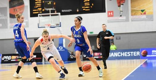 נבחרת ישראל נגד נבחרת בריטניה (צילום: ההתאחדות הבריטית)