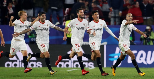 סביליה חזרה מ-3:0 ל-3:3 מטורף מול ליברפול