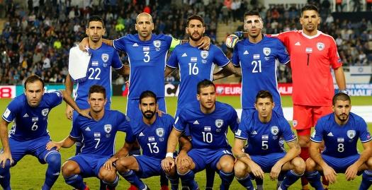 שחקני נבחרת ישראל (רויטרס)