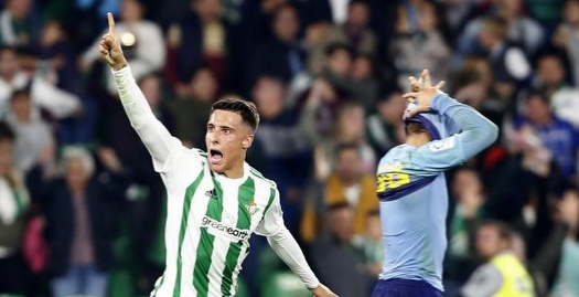 כריסטיאן טיו בטירוף אחרי שער השוויון (La Liga)