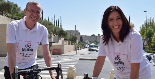 בג'ירו דה איטליה מחקו את ההגדרה מערב ירושלים