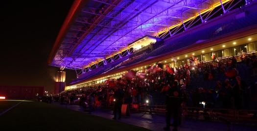 אצטדיון נתניה בחושך (אחמד מוררה)